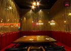 Chiny Skóra / Tkanina U Shape Restaurant Booth Seating For Hotel / Salon / Coffee Shop fabryka
